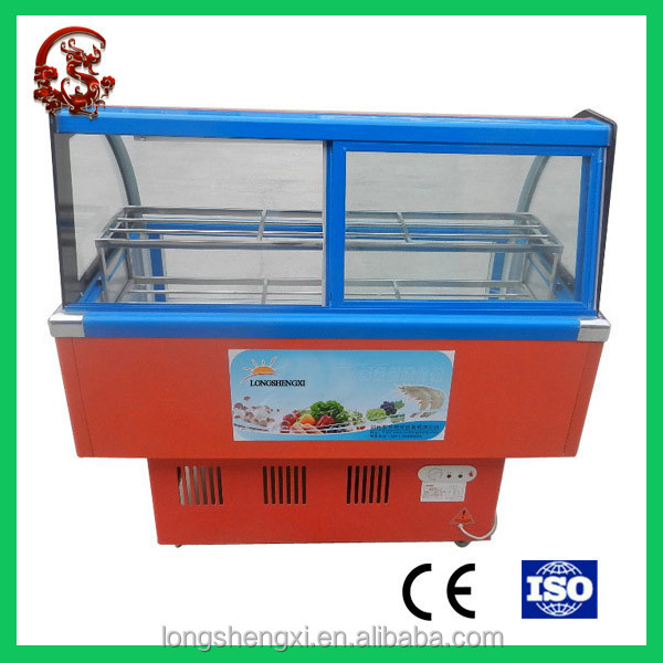 Front window mini commercial refrigerator