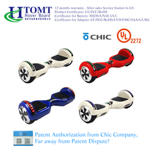 "2017 HTOMT 6.5"" High quality ce fcc rohs fastest hoverboard 6.5 inch self balancing electric scooter hover board"