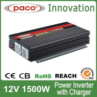 Modified Sine Wave/Solar Power Inverter, Used for Cars, Inverter 1500w with CE Certification