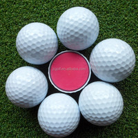 Different numbers and logo printed 3 layer golf tournament ball