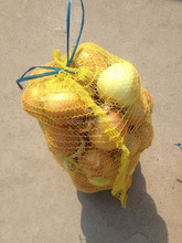 top quality 20kg hdpe red netting onion mesh bag