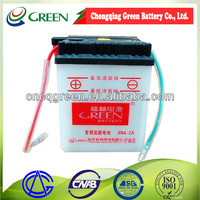 6N4-2A 6V 4AH Flooded Motorbike Battery Applied to JIALING 70/80