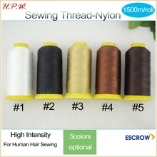 100% spun polyester sewing thread High Intensity Nylon sewing thread