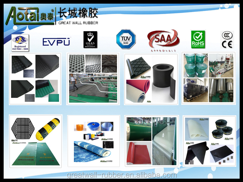 different color hot sales good quality silicone rubber sheets