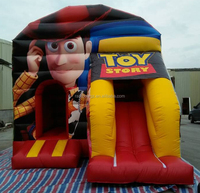 4*5.5*4.5m Toy Story Sacramento Cheap Rentals Jump Inflatable Bounce House