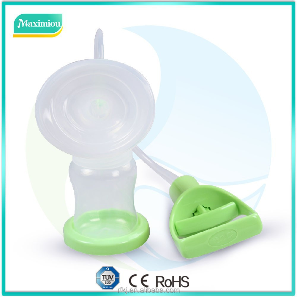 2015 Supplying good quality manual ball breast pump medela breast pump factory price wholesale