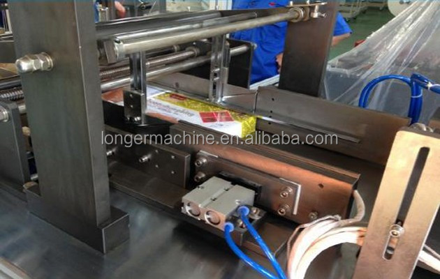 3D Perfume Box Film Wrapping Machine Commercial Glass Paper Packing Machine