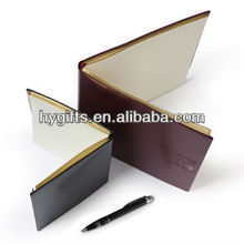 leather diary calendar printing notebooks