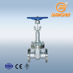 durable quality pneumatic electric drive long stem gate valve WCB DN300 PN16 gate valve extended stem extension spindle