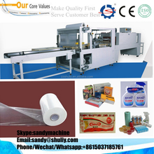Full Automatic Side Sealing Heat Shrink Packaging Machine