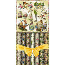 FSC factory custom fancy Easter wrapping paper wholesale