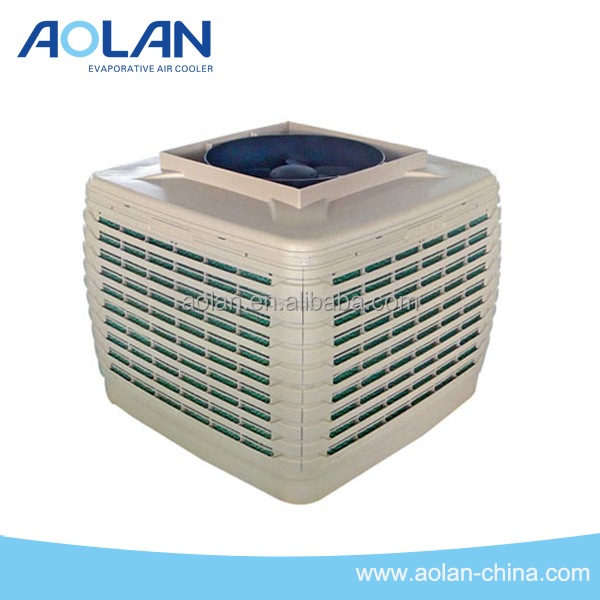 top discharge centrifugal brushless DC motor evaporative air cooler with low noise