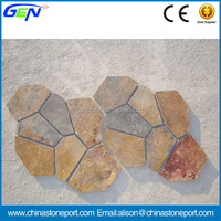 Cheap Natural flagstone Crazy Paving Stone
