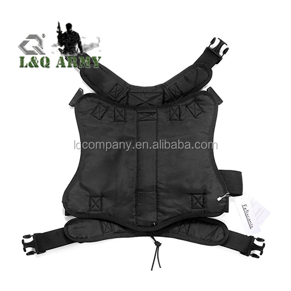 Tactical Dog Training Vest Harness with Adjustable Service