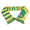 F03 cheap jacquard knitted double layers muffler sport club soccer football fan scarf