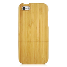 Beauty wooden phone shell real wood hard case good using mobile phone protective case for iPhone 5