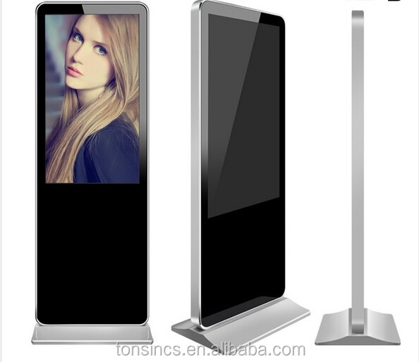 42 Inch IR Floor Standing Touch Screen AD Android Digital Signage