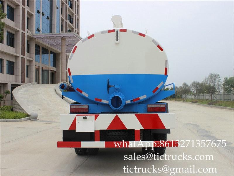 DF Dung vacuum truck 9m3 -07-Cesspit Emptier-Septic Tank.jpg