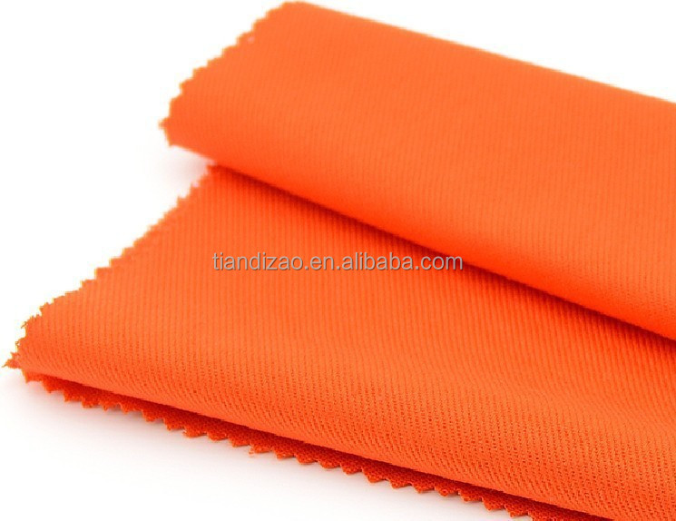 Meta aramid and viscose fr blended fabric