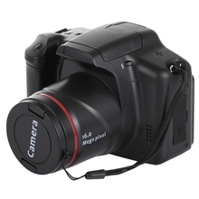Factory Price Full HD 720P Recording 16.0 Mega Pixel HD DV SLR 2.4 inch LCD Camera With Infrared Lens, EIS