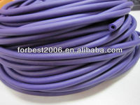 Rubber fitness latex tube,latex rubber stretch tube,latex tubing
