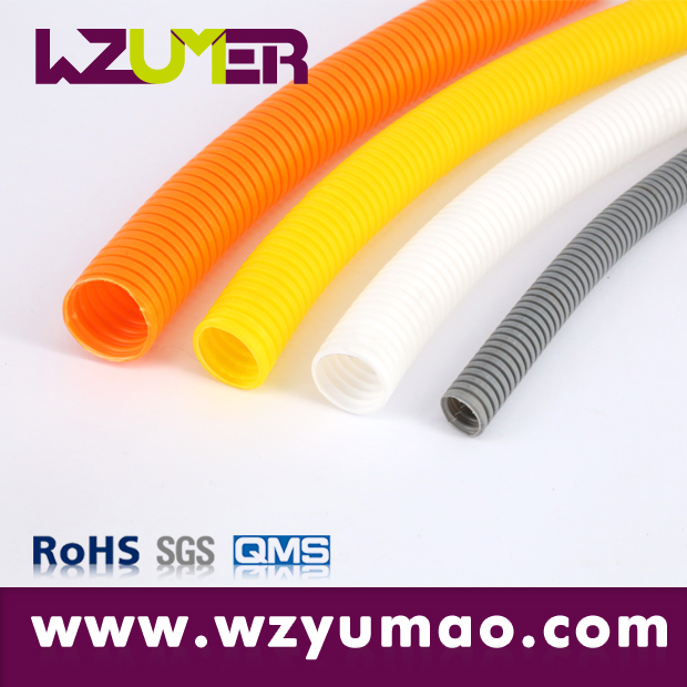 WZUMER electrical equipment machineries Insulated Plastic PE Corrugated Pipe