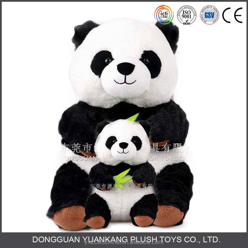 Small panda bear soft toy