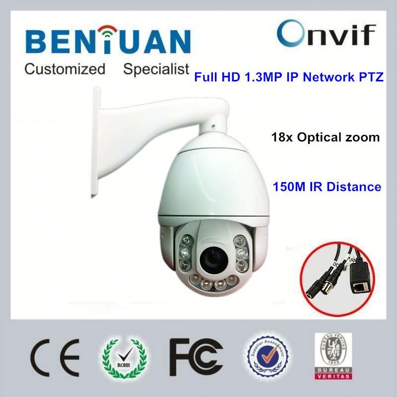 Auto running memory against power outage IR High Speed Dome camera PTZ zoom cctv camera