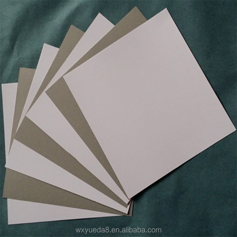 CB-002 650gsm shirt packing duplex board paper , packaging box cardboard strip