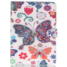 High Quality Colorful Patterns PU Leather Flip Case Cover for iPad Air with Kick Stand