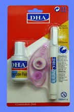 supply combination suit correction fluid +correction pen +correction tape FOR office stationery