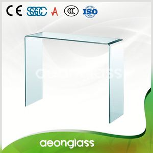 Bent Tempered Glass Building Toughened Curved Glass For Curtain Wall