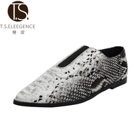 PU Leather Shoes, Light metal Lady Leather Shoes,lady Leather Shoes