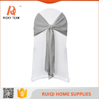 Luxury fancy chair cover sash butterfly chair cover