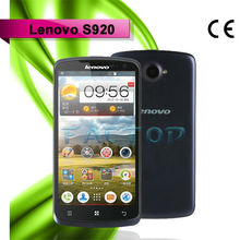 lenovo s920 dual sim card dual standby quad core with CE certificate china Android 4.2 video chat mobile phone