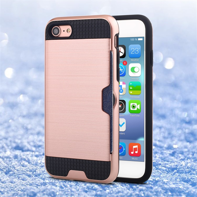 Free sample for iphone 7 rose gold housing with back cover, phone case for iphone 7 plus