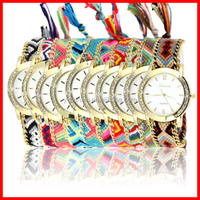 Wholesale Colorful National Mind Style Women Watch Bohemian Model Fashion Stainless Steel Watch