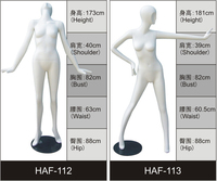 hot sale fibeglass matte surface dancing mannequin
