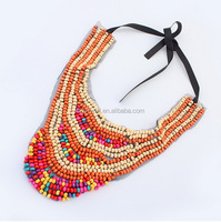N135 Yiwu market futian China stock free shipping Women accessories 2016 Jewlery necklace wholesale Little bead necklace design