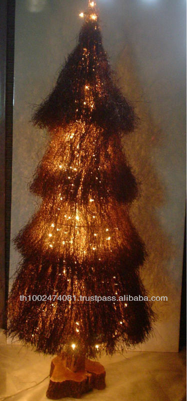 Nature fiber Christmas tree