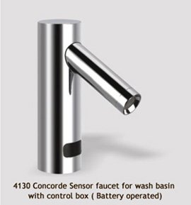 Concorde sensor faucet for wash basin