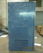 hollow metal louver door for fire rated