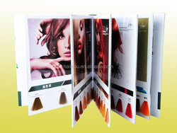 Professional hair color cream OEM Manufacturer coloring chart with 49/104 shades