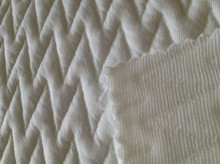 new item 95% polyester 5% spandex quilting seam jacquard fabric