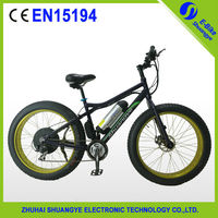 2015 hot sale fat tire new design electric dirt bike