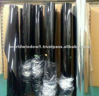 Security scratch resistant shatter proof protective plastic film