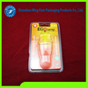 Clear plastic blister package clamshell blister packaging