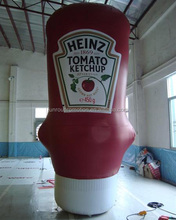 giant inflatable ketchup bottle, giant inflatable replica AD-78