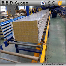 new construction materials Rockwool sandwich panel indonesia