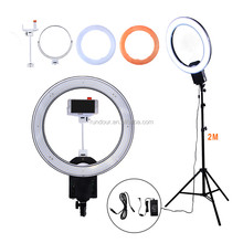 Top sale Nanguang CN-R640 38.4w 640 Led Photographic Light Dimmable Camera Photo/studio/phone/video Photography Ring Light Lamp